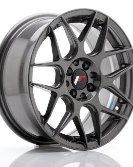 JR Wheels JR18 16×7 ET25 4×100/108 Hyper Gray