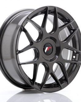 JR Wheels JR18 17×7 ET20-40 BLANK Hyper Gray