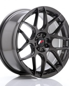 JR Wheels JR18 17×8 ET25 4×100/108 Hyper Gray