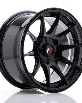 JR Wheels JR21 17×7 ET25-40 4H BLANK Glossy Black