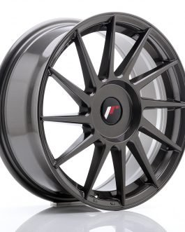 JR Wheels JR22 17×7 ET35-40 BLANK Hyper Gray