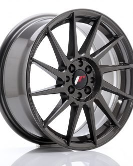 JR Wheels JR22 17×7 ET25 4×100/108 Hyper Gray