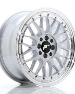 JR Wheels JR23 16×7 ET20 4×100/108 Hyper Silver w/Machined Lip