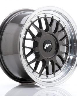 JR Wheels JR23 16×8 ET20-45 BLANK Hyper Gray w/Machined Lip