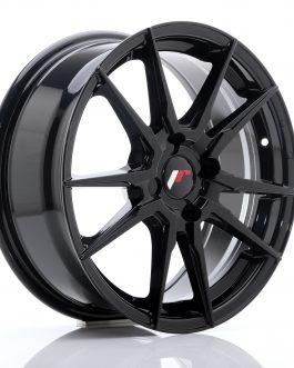 JR Wheels JR28 17×7 ET40 4×100 Hyper Black