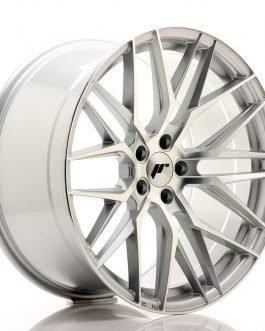 JR Wheels JR28 20×10 ET40 5×120 Silver Machined Face