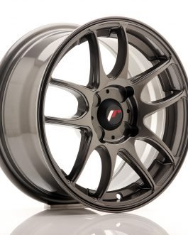 JR Wheels JR29 15×7 ET20-42 4H BLANK Hyper Gray