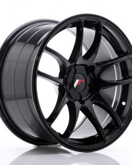JR Wheels JR29 17×9 ET20-38 5H BLANK Glossy Black