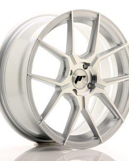 JR Wheels JR30 17×7 ET40 4×100 Silver Machined Face