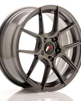 JR Wheels JR30 17×7 ET40 5×112 Hyper Gray