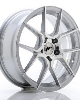 JR Wheels JR30 17×7 ET40 5×112 Silver Machined Face