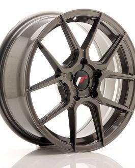 JR Wheels JR30 17×8 ET20-40 5H BLANK Hyper Gray