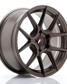 JR Wheels JR30 17×8 ET20-40 5H BLANK Matt Bronze