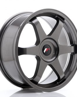 JR Wheels JR3 18×8 ET35-45 BLANK Hyper Gray