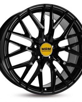 MAM RS4 Black Painted 7.5×17 ET:  –