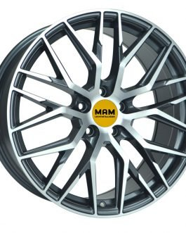 MAM RS4 Palladium Front Polish 8.5×20 ET: 45 – 5×112