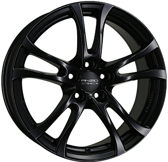 ANZIO TURN Dull Black 6.5x16 ET: 38 - 5x100