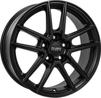 ANZIO SPLIT Dull Black 6.0x15 ET: 43 - 5x112
