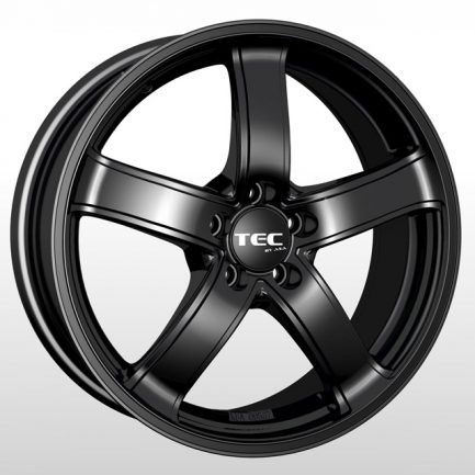 TEC Speedwheels AS1 Schwarz seidenmatt CB: 72.5 6.5x15 ET: 45 - 5x114.3