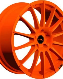 TEC Speedwheels AS2 Race orange CB: 64.0 8×18 ET: 38 – 4×100