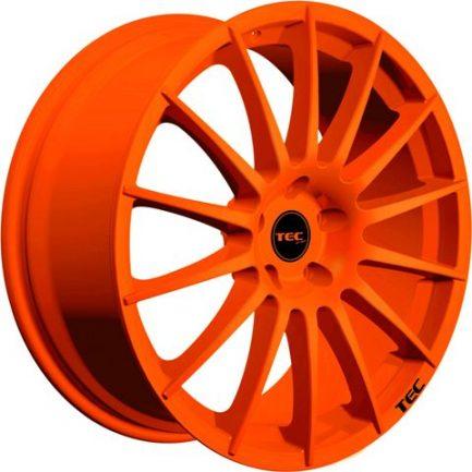 TEC Speedwheels AS2 Race orange CB: 72.5 8x18 ET: 45 - 5x114.3