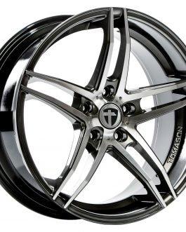 Tomason TN12 Dark hyper black polished 8.5×18 ET: 45 – 5×112