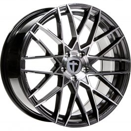 Tomason TN19 Dark Hyper black polished 8.5×19 ET: 40 – 5×114.3