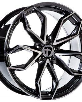 Tomason TN22 Dark Hyper black polished 8.5×20 ET: 45 – 5×108