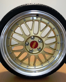 885 LeMans Gold 8×18 ET: 35 – 5×112 4kpl + Linglong 215/35-18