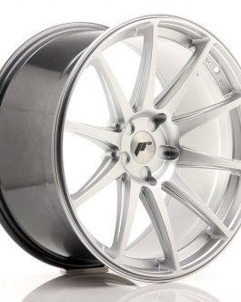 JR Wheels JR11 20×10 ET20-40 5H BLANK Hyper Silver