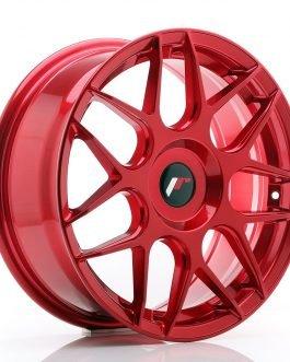 JR Wheels JR18 17×7 ET40 BLANK Platinum Red