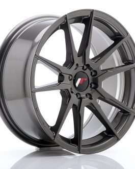 JR Wheels JR21 17×8 ET35 4×100/114 Hyper Gray