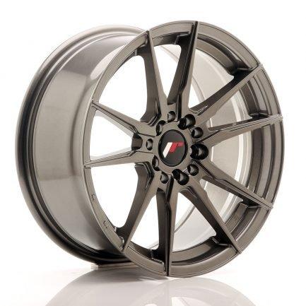 JAPAN RACING JR Wheels JR21 17x8 ET35 5x108/112 Hyper Gray 8.00x17