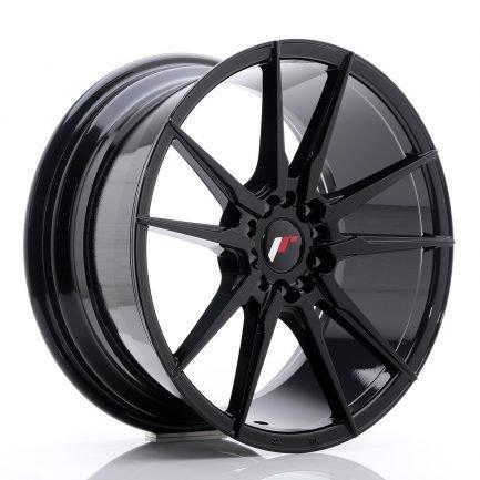 JAPAN RACING JR Wheels JR21 18x8,5 ET40 5x112/114 Glossy Black 8.50x18