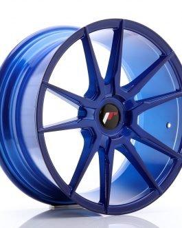 JR Wheels JR21 18×8,5 ET20-40 BLANK Platinum Blue