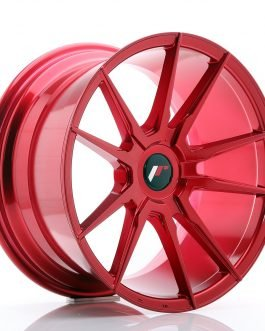 JR Wheels JR21 18×9,5 ET20-40 BLANK Platinum Red