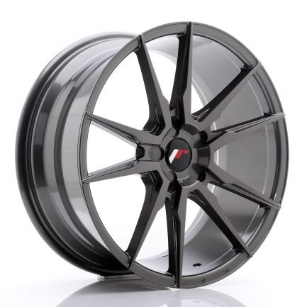 JAPAN RACING JR Wheels JR21 19x8,5 ET35-43 5H Blank Hyper Gray 8.50x19