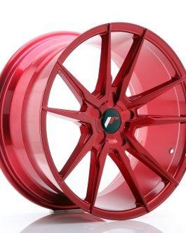 JR Wheels JR21 19×9,5 ET35-40 5H BLANK Platinum Red