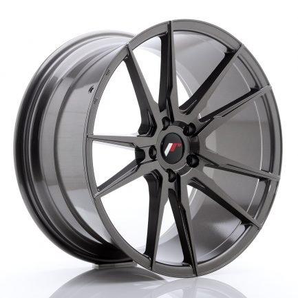 JAPAN RACING JR Wheels JR21 20x10 ET40 5x120 Hyper Gray 10.00x20