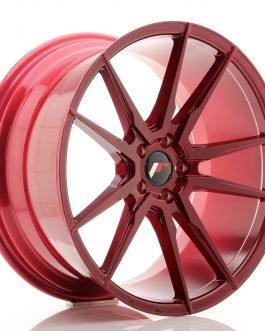 JR Wheels JR21 20×10 ET40 5×112 Platinum Red