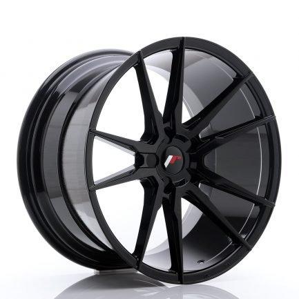 JAPAN RACING JR Wheels JR21 20x11 ET30-50 5H BLANK Glossy Black 11.00x20