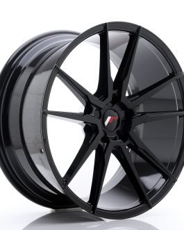 JR Wheels JR21 21×10 ET15-48 5H BLANK Glossy Black
