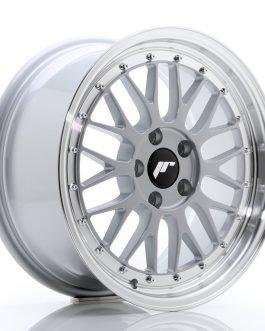 JR Wheels JR23 17×8 ET40 5×112 Hyper Silver w/Machined Lip