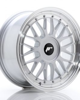 JR Wheels JR23 17×8 ET20-45 BLANK Hyper Silver w/Machined Lip