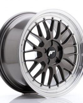 JR Wheels JR23 18×8,5 ET25-48 5H BLANK Hyper Gray w/Machined Lip