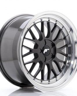 JR Wheels JR23 18×9,5 ET25-48 5H BLANK Hyper Gray w/Machined Lip