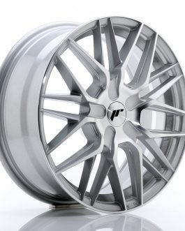 JR Wheels JR28 17×7 ET20-45 BLANK Silver Machin