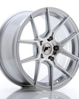JR Wheels JR30 17×8 ET35 5×120 Silver Machined Face
