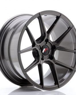 JR Wheels JR30 18×9,5 ET20-40 5H Blank Hyper Gray