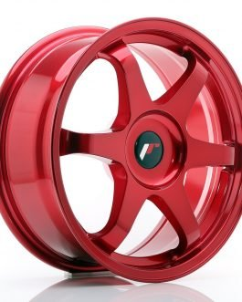 JR Wheels JR3 17×7 ET20-42 BLANK Platinum Red